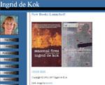 Ingrid de Kok Poetry